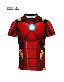 Dae Do Maglietta Iron Man Full Print Slim Fit